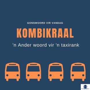 Kombikraal: Taxirank