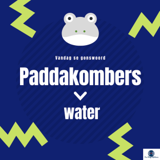Paddakombers: Water