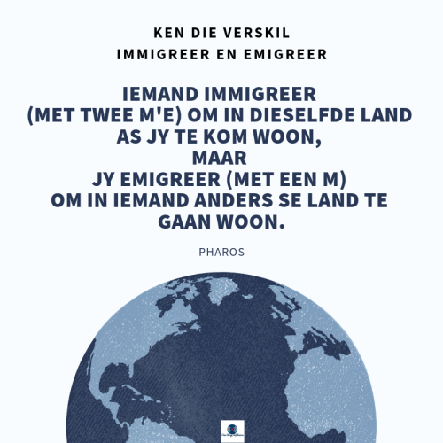 immigreer of emigreer