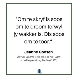 Jeanne Goosen - gedig