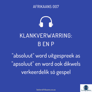 absoluut in afrikaans