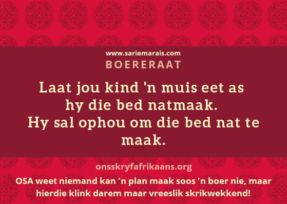 bed natmaak