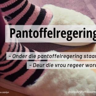 pantoffelregering